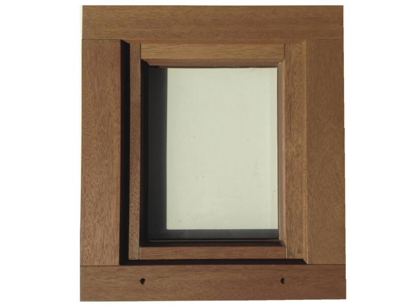 Fenêtre battante 46x48 cm bois