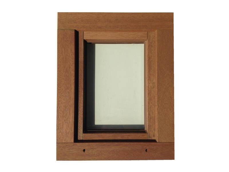 Fenêtre battante 46x58 cm bois