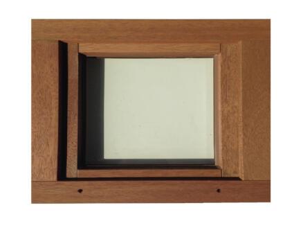 Fenêtre battante 66x48 cm bois
