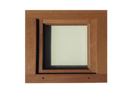 Fenêtre battante 66x58 cm bois