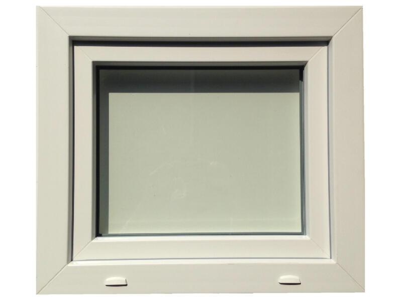 Fenêtre battante 86x58 cm PVC