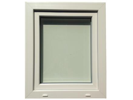 Fenêtre oscillo-battante ouvrant droit 66x78 cm PVC