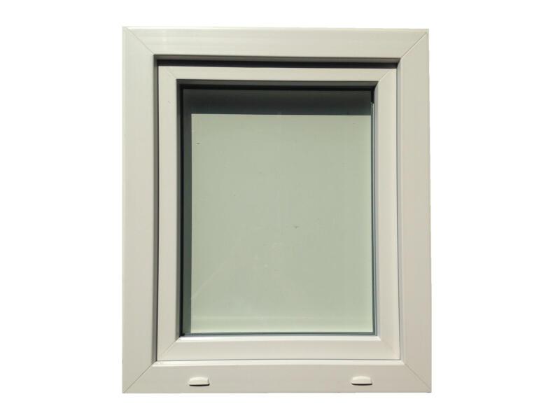 Fenêtre oscillo-battante ouvrant droit 66x98 cm PVC