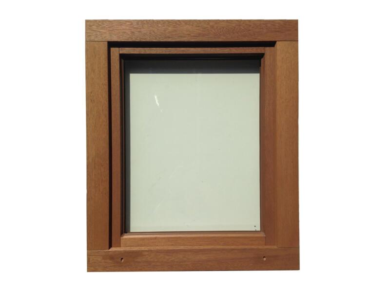 Fenêtre oscillo-battante ouvrant droit 86x118 cm bois