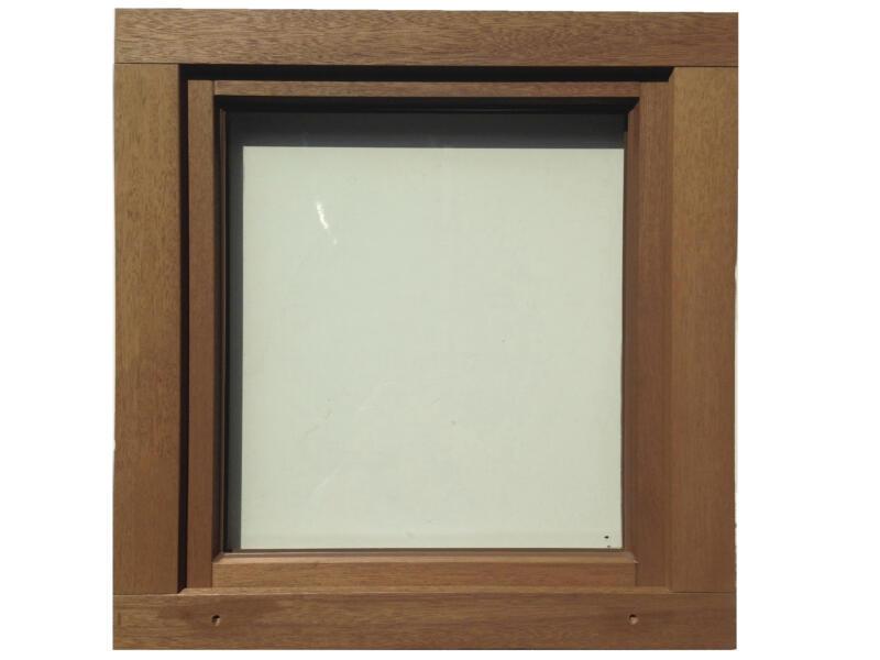 Fenêtre oscillo-battante ouvrant droit 86x78 cm bois