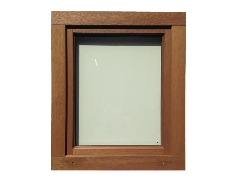 Fenêtre oscillo-battante ouvrant droit 96x118 cm bois