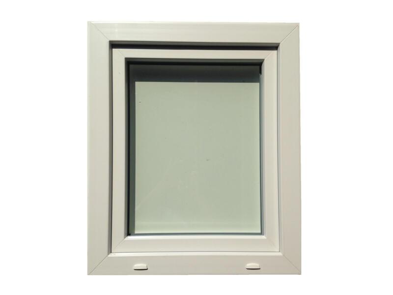 Fenêtre oscillo-battante ouvrant droit 96x138 cm PVC