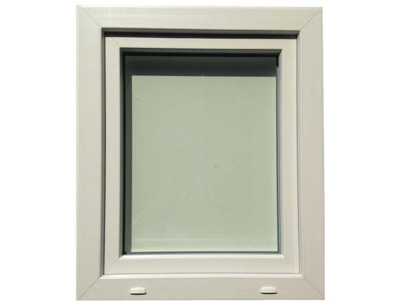 Fenêtre oscillo-battante ouvrant droite 86x98 cm PVC