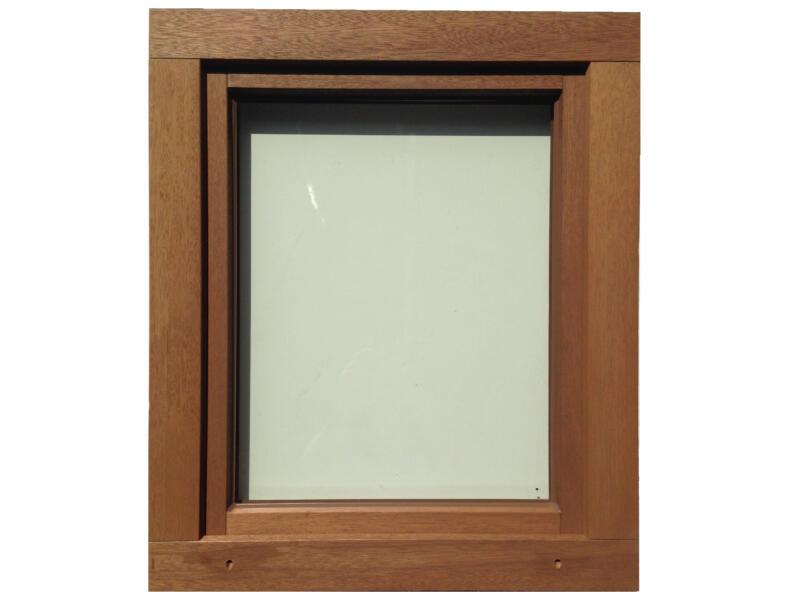 Fenêtre oscillo-battante ouvrant droite 96x98 cm bois