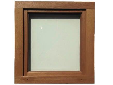 Fenêtre oscillo-battante ouvrant gauche 86x78 cm bois