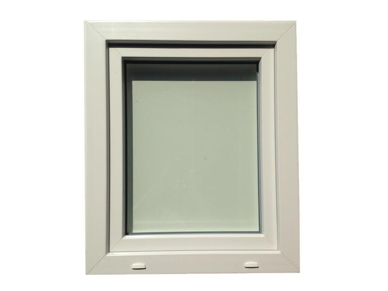 Fenêtre oscillo-battante ouvrant gauche 96x138 cm PVC