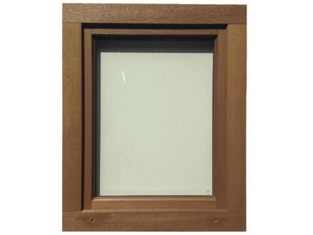 Fenêtre oscillo-battante ouvrant gauche 96x138 cm bois