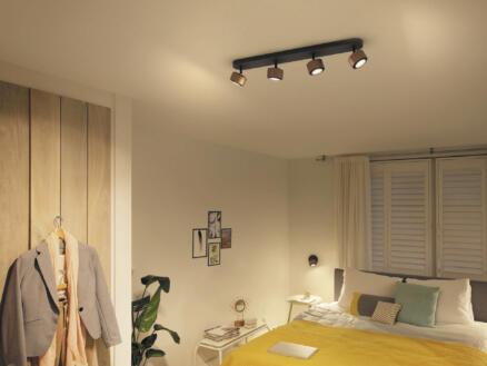 Philips Ferano LED balkspot 4x4,3 W koper