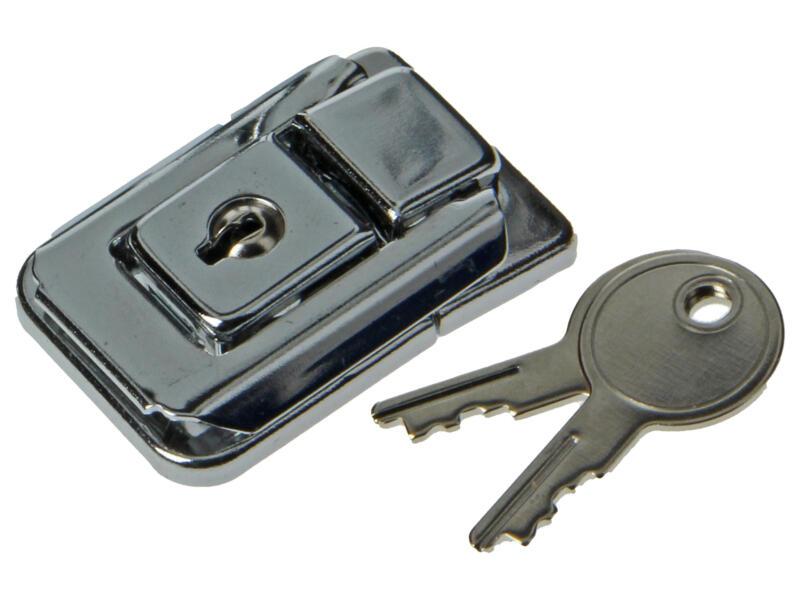 Fermetures valise avec serrure 50mm 2 pièces