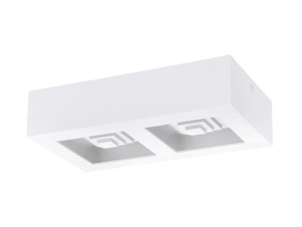 Eglo Ferreros LED plafondlamp 2x6,3 W wit