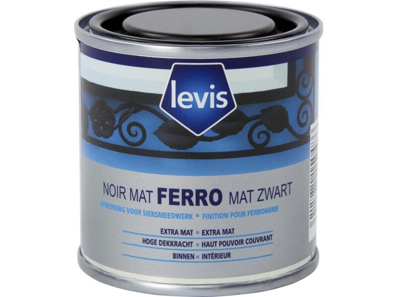 Levis Ferro finition pour ferronnerie mat 0,125l noir
