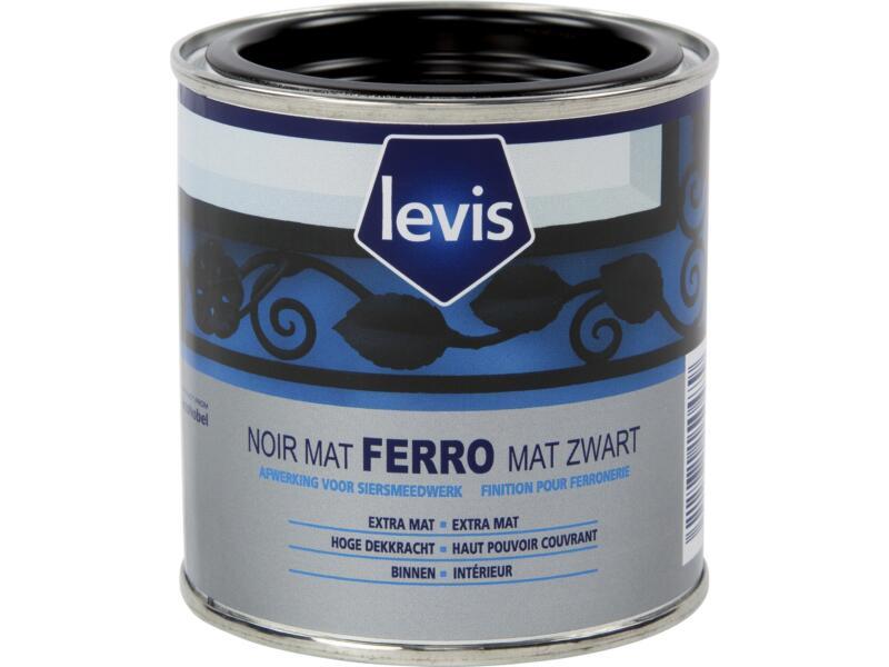 Levis Ferro lak mat 0,25l zwart