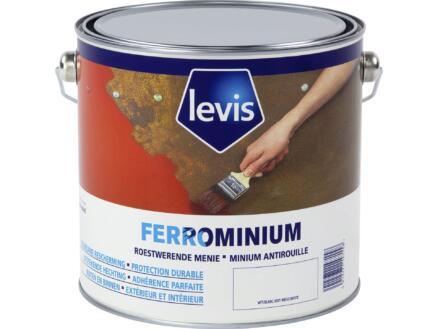 Levis Ferrominium lak 2,5l wit