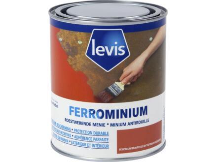 Levis Ferrominium laque 0,75l brun rouge