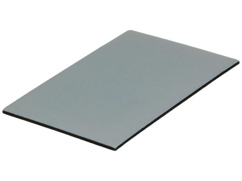 Sam Feutre adhésif 70x100 mm gris