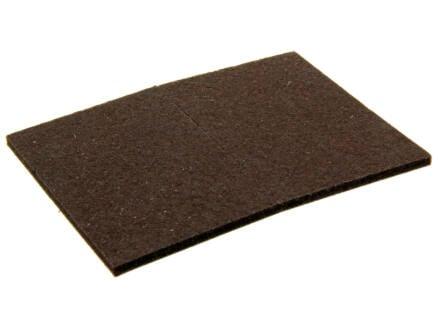 Mack Feutre adhésif 95x70 mm brun