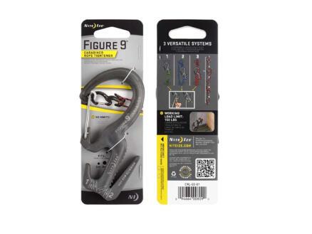 Nite Ize Figure 9 karabijnhaak/draadspanner aluminium