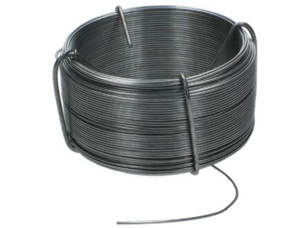 Fil à ligature 50m 1,1mm galvanisé