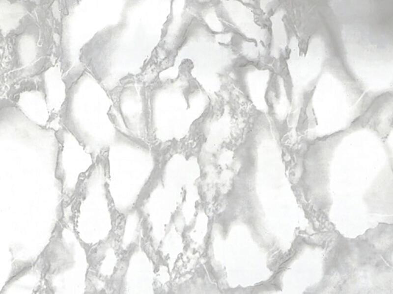 FinFIX Film adhésif 45cm x 2m Marbre blanc/gris