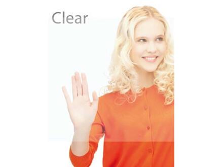 FinFIX Film adhésif 45cm x 2m Window clear