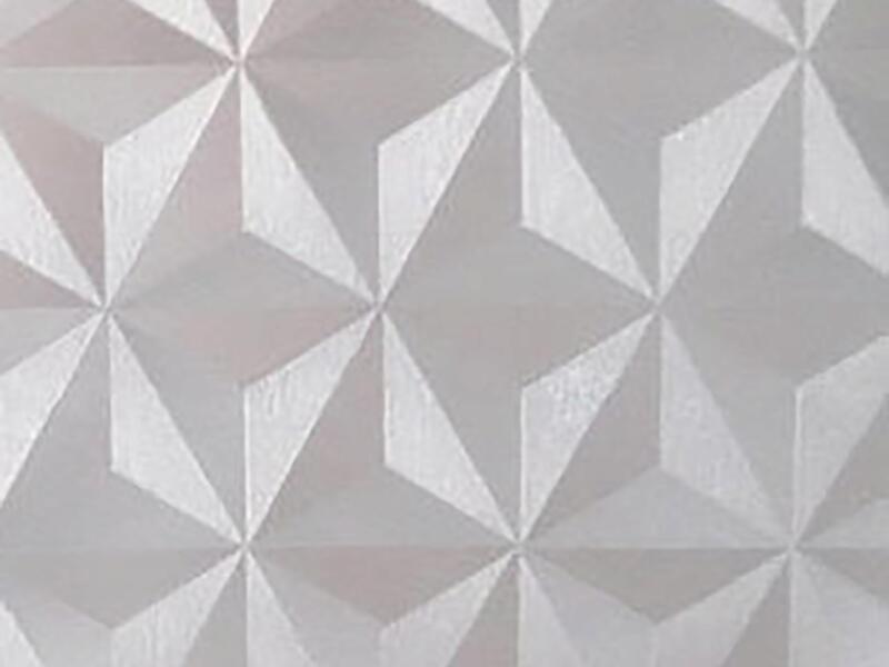 FinFIX Film adhésif 45cm x 2m Window triangle