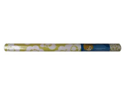 Lola Film adhésif 45cm x 3m flower vert