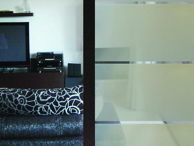 Lineafix Film électrostatique 46cm x 1,5m Effet sablé