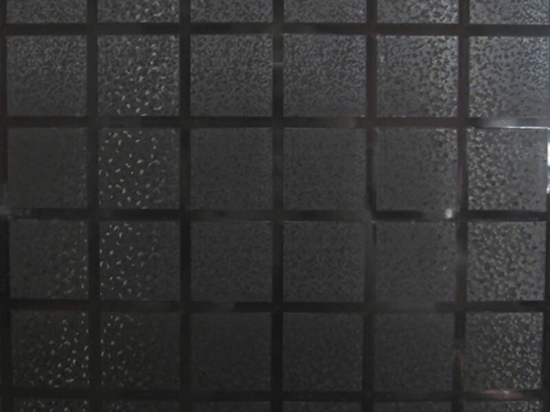Lineafix Film électrostatique 92x150 cm cube grey