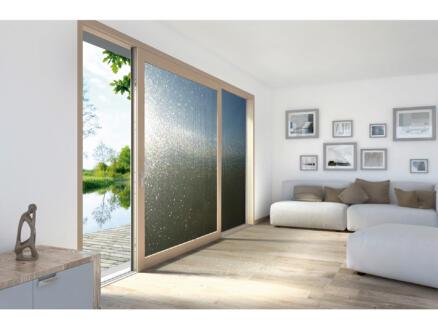 Lineafix Film électrostatique 92x150 cm square grey