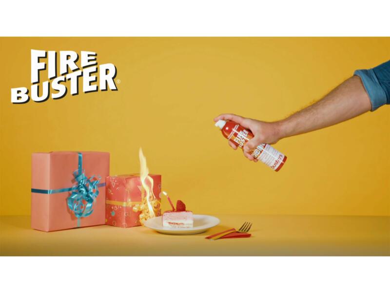 Busters Fire Buster 4-en-1 aérosol d'extinction d'incendie 250ml