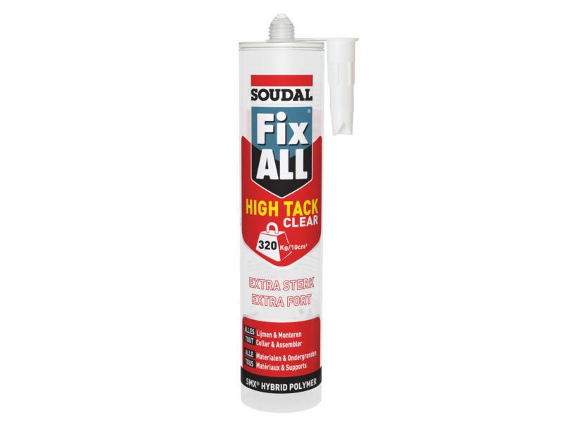 Soudal Fix All High Tack montagelijm 290ml clear