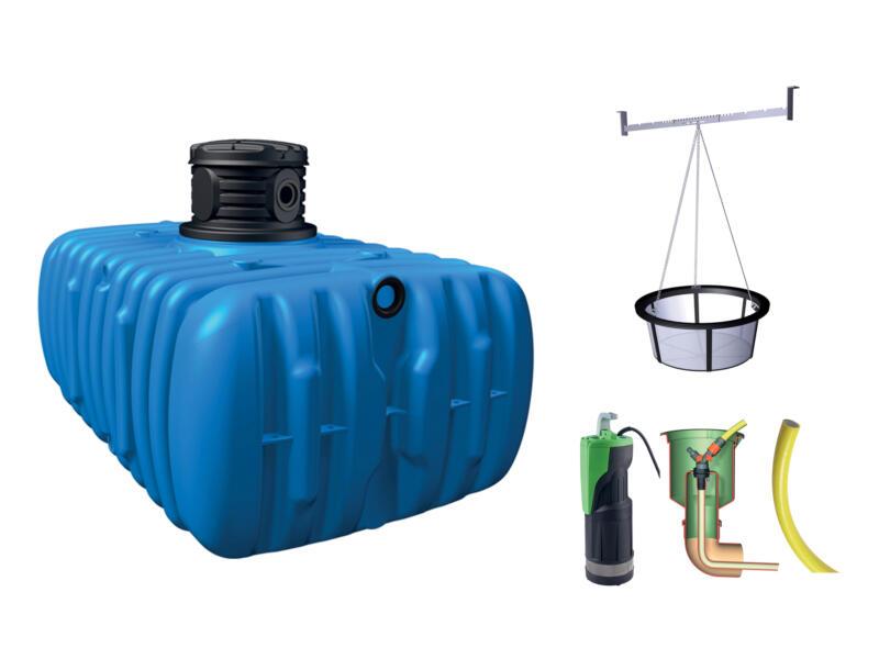 4Rain Flat Confort tonneau de pluie à enterrer 3000l + accessoires