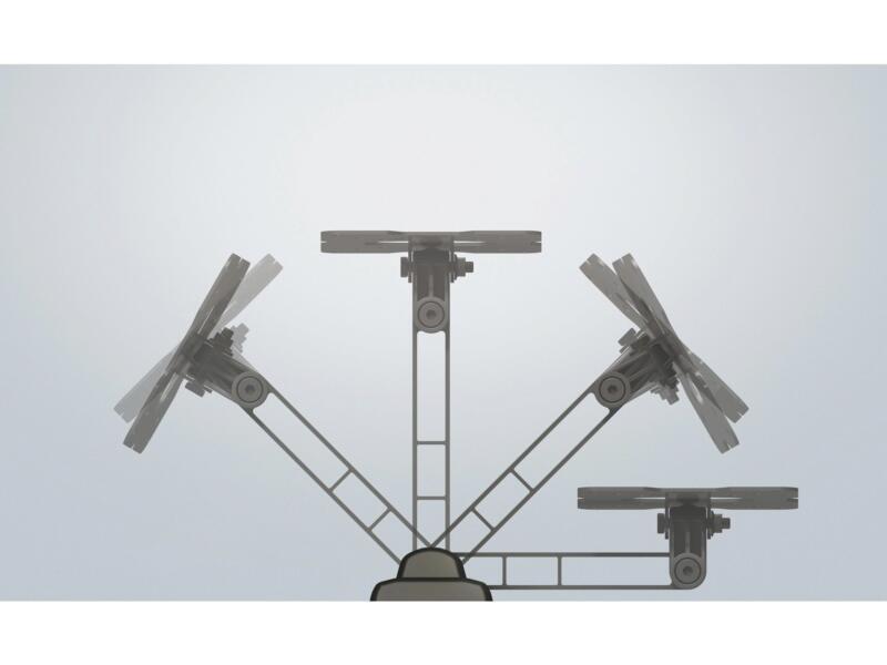 Flatstyle ER100 support mural TV inclinable pour écran plat 14