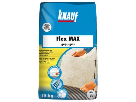 Knauf Flex Max colle pour carrelages 15kg gris
