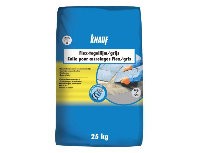 Knauf Flex tegellijm 25kg grijs