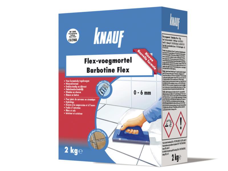 Knauf Flex voegmortel 2kg zilvergrijs