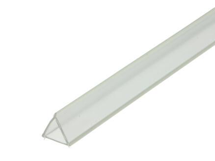 Arcansas Flexibel profiel 1m 17mm PVC transparant
