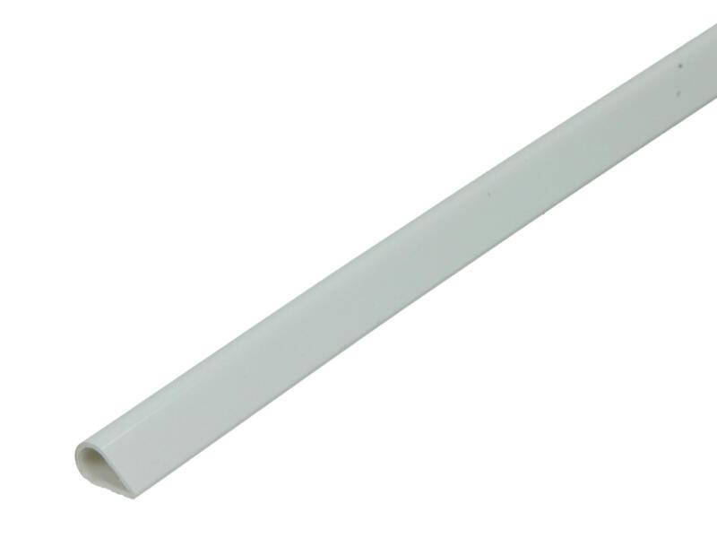 Arcansas Flexibel profiel 1m 5mm PVC wit