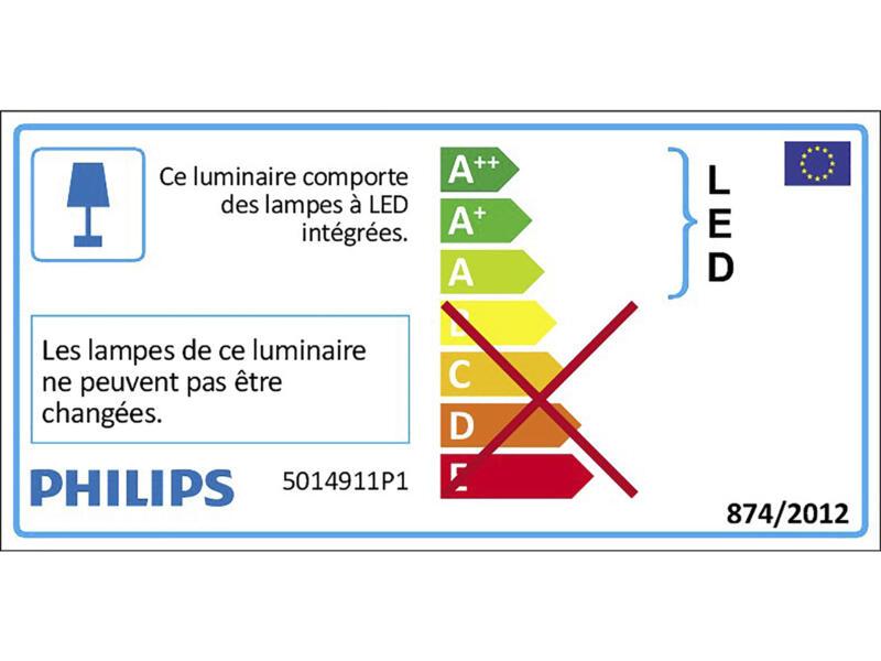 Philips Float barre de spots LED 4x5W chrome
