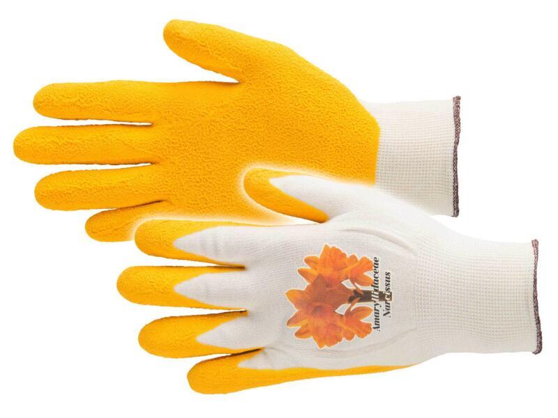 Busters Flower Power gants de jardinage M nylon jaune