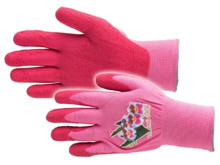 Busters Flower Power gants de jardinage S nylon rose