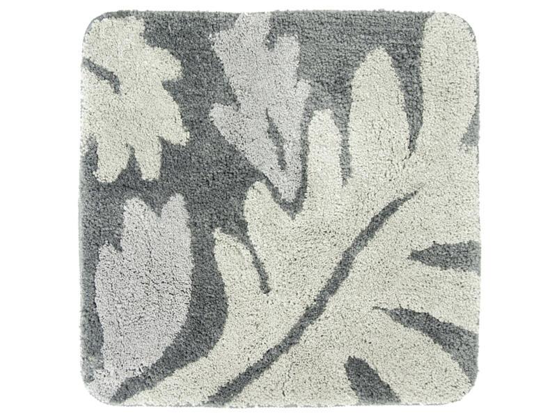Differnz Folia tapis de bain 60x60 cm gris