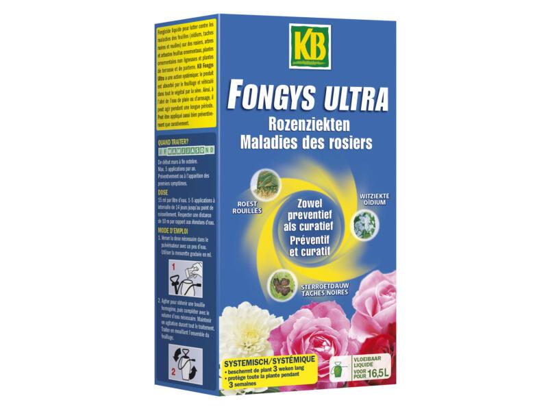 Kb Fongys Ultra fongicide maladies des rosiers 250ml