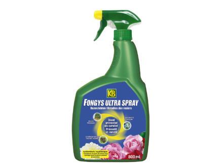 Kb Fongys Ultra spray maladies des rosiers 800ml