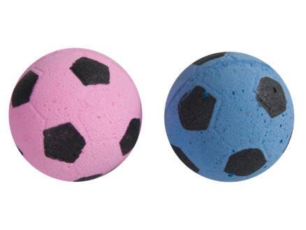 Flamingo Footbal 4cm éponge 2 pièces